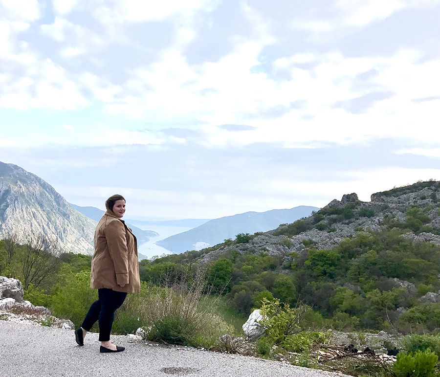How to get incredible photos of yourself while traveling solo in Kotor, Montenegro!